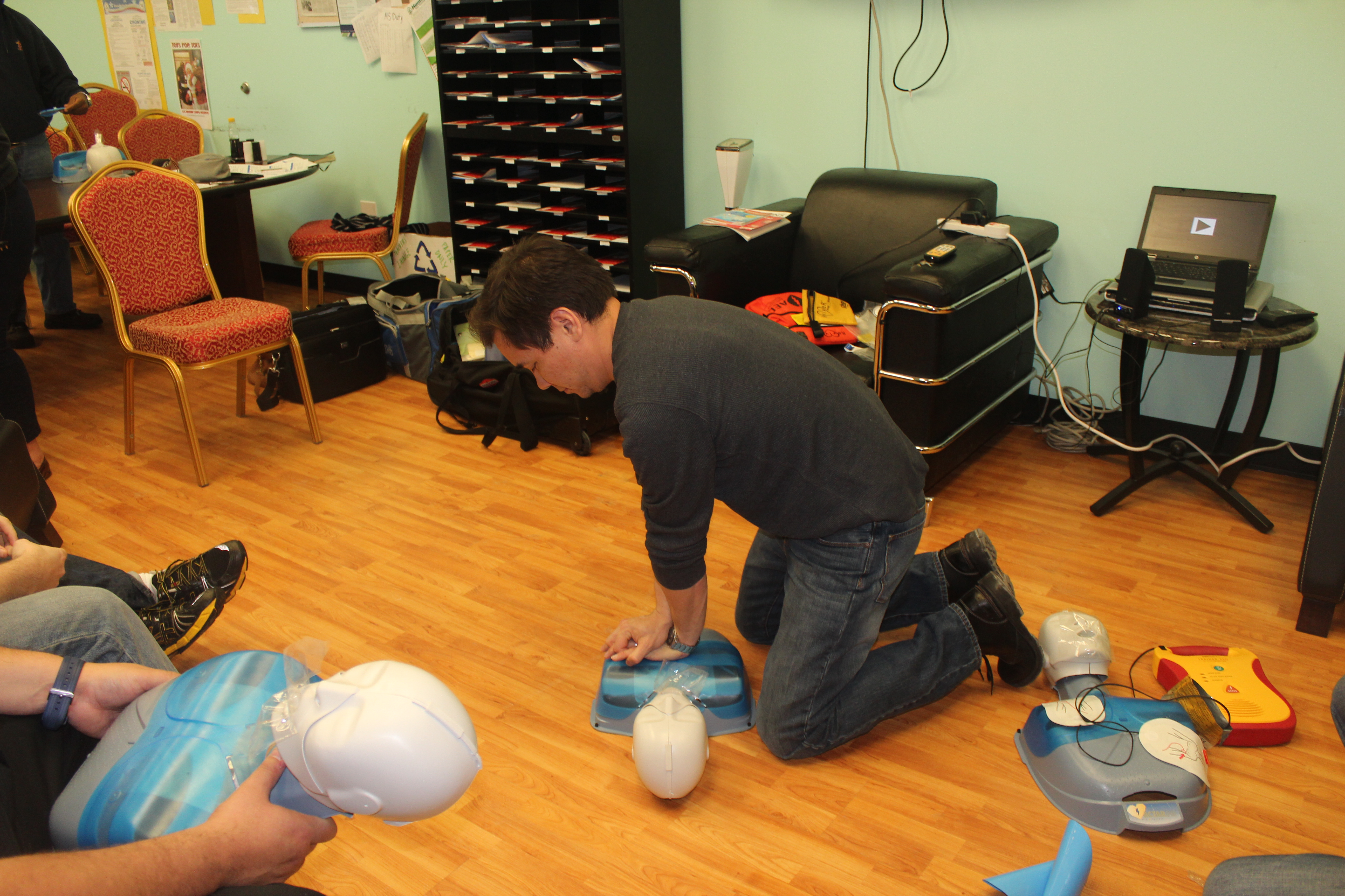 Cpr training at cmsa chicago math and science academy cmsa cmsa staff received training and certification in cpr first aid and auto electrical defibrillation xflitez Images