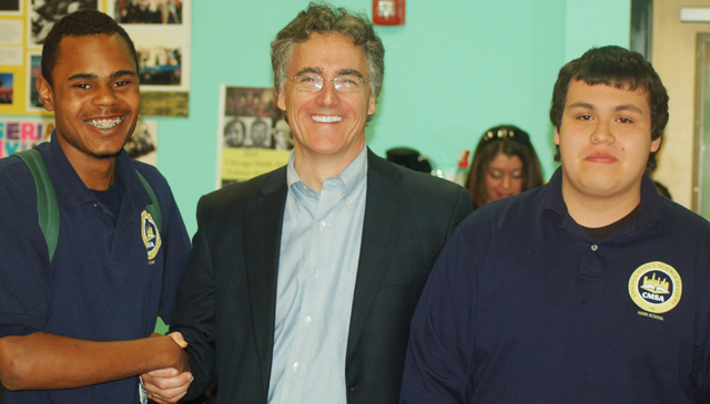 Cook County Sheriff Tom Dart speaks at CMSA – Chicago Math and