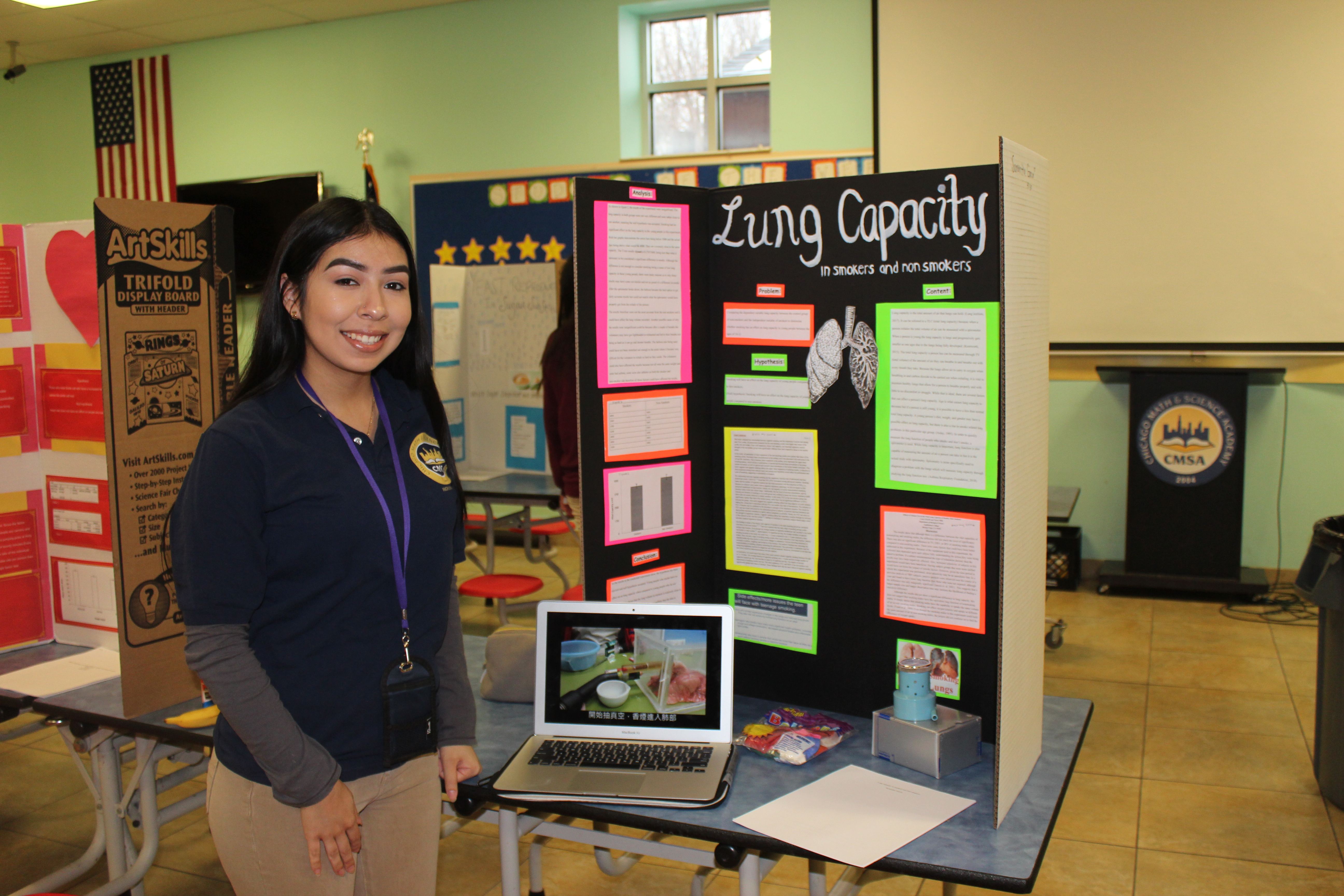 students compete in science fair – chicago math and science academy